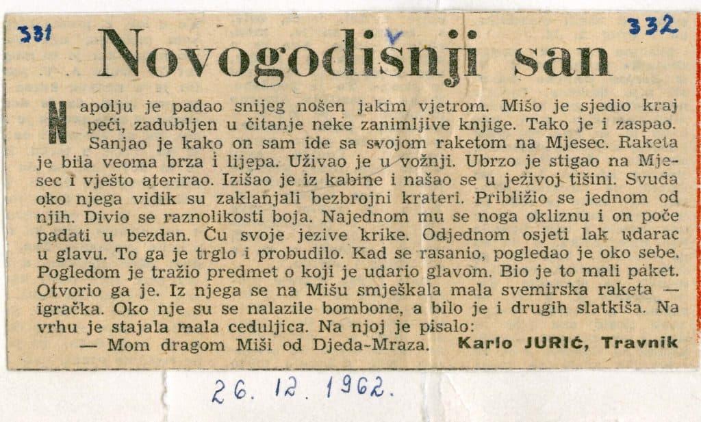 Karlo Jurić / Sjećanje na velikog novinara, zaljubljenika u sport...