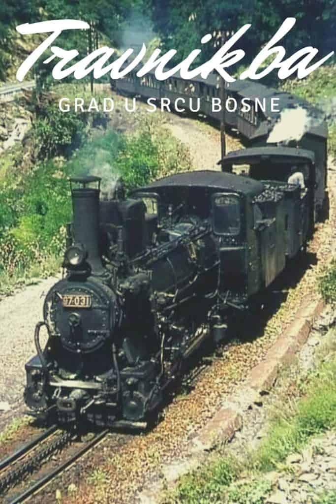 Parni voz ĆIRO u Travniku