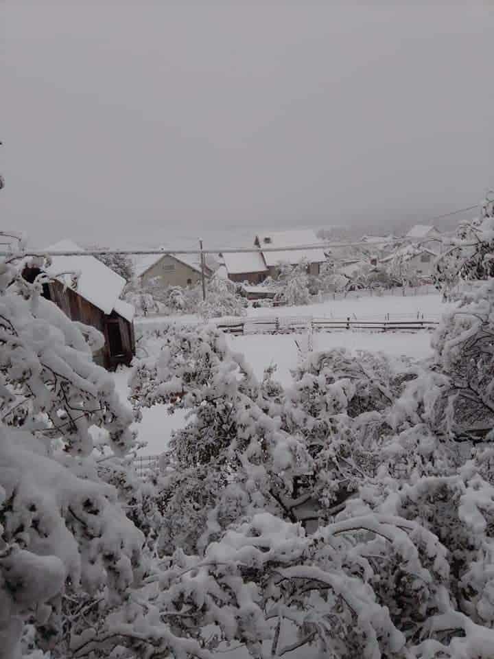 Mudrike, selo koje prvo osjeti zimu