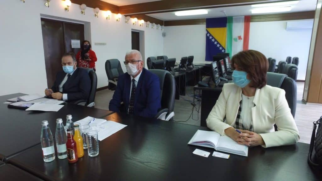 Sastanak članova Vlade SBK sa predstavnicima Razvojne banke FBiH
