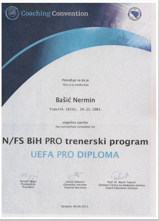 Nermin Bašić - svjetsko a naše