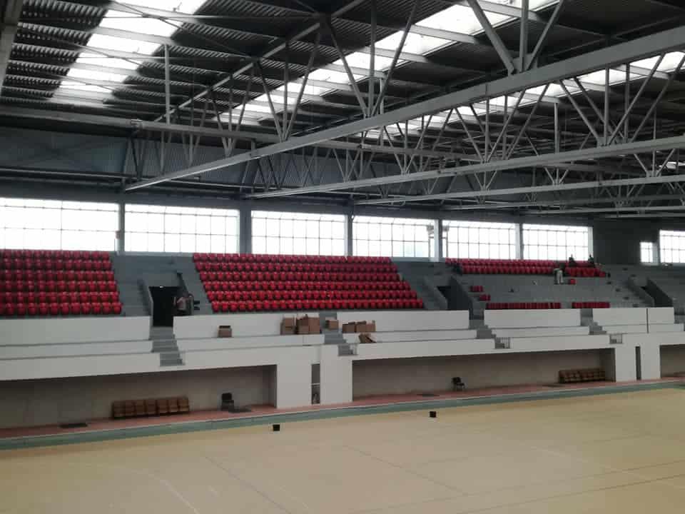 Sportska dvorana Pirota dobija konačni unutrašnji izgled