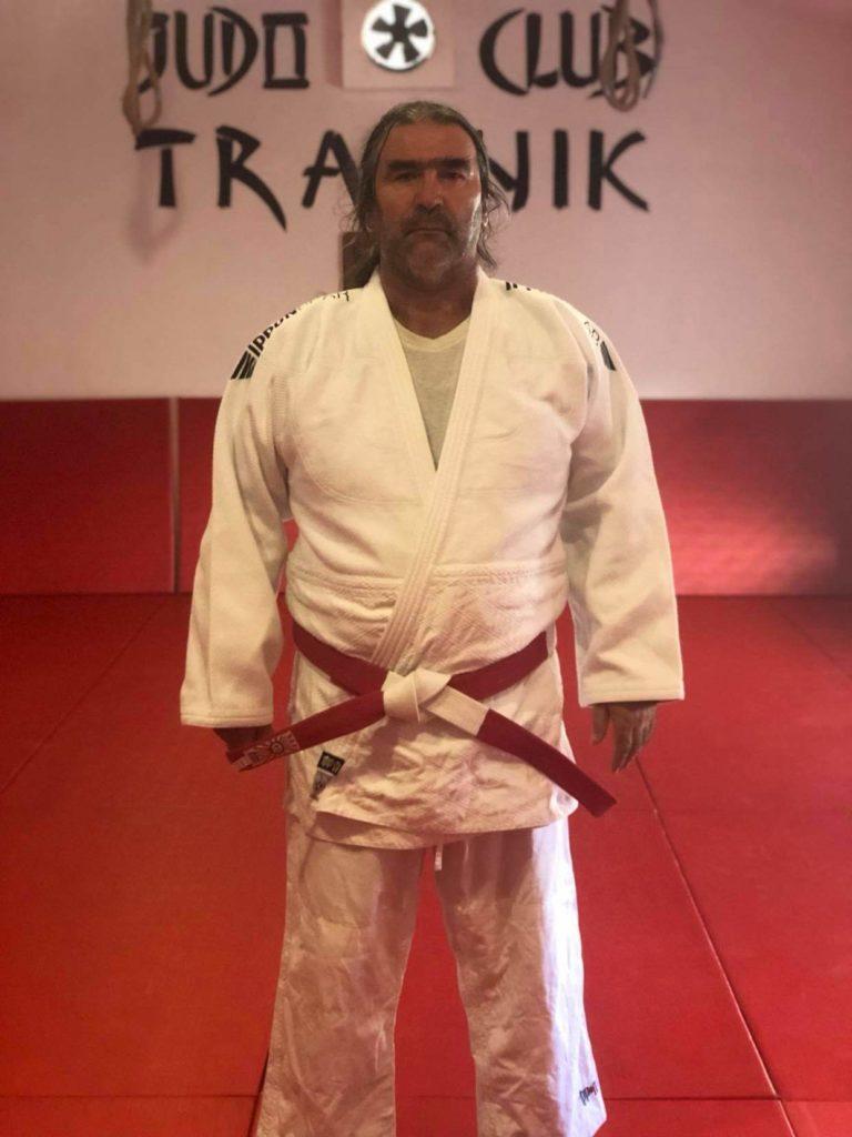 """Elvir Salihagić Taka / Osnivač Judo kluba """"Travnik"""", državni i interkontinentalni sudija..."""