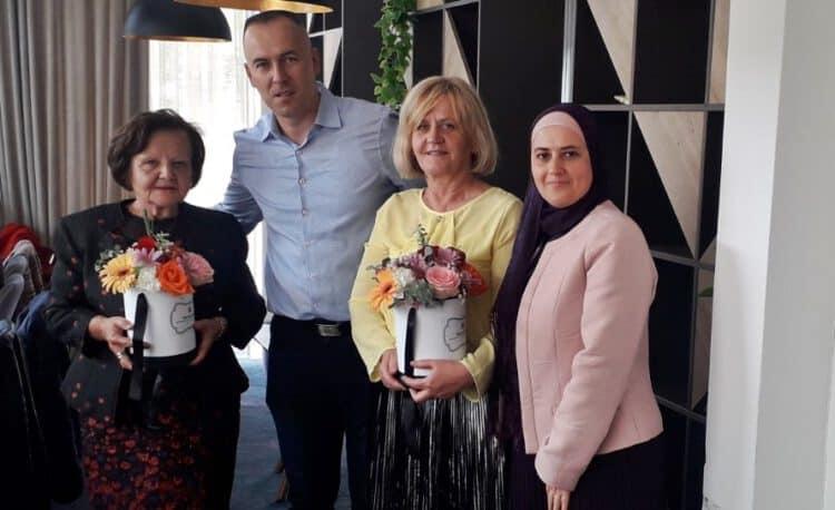 """(FOTO) U penziju ispraćene dvije profesorice Mješovite srednje škole """"Travnik"""""""