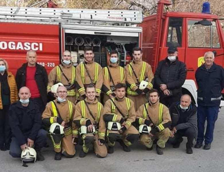 Turbe bogatije za pet vatrogasaca!