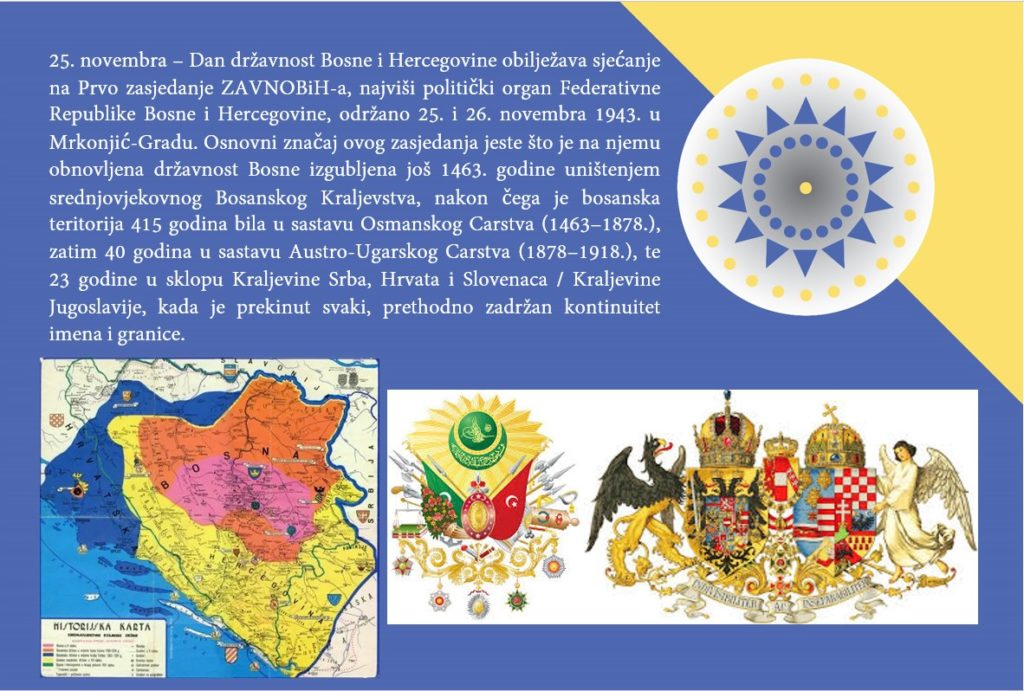 Bosanski kulturni krug Travnik čestitao Dan državnosti BiH