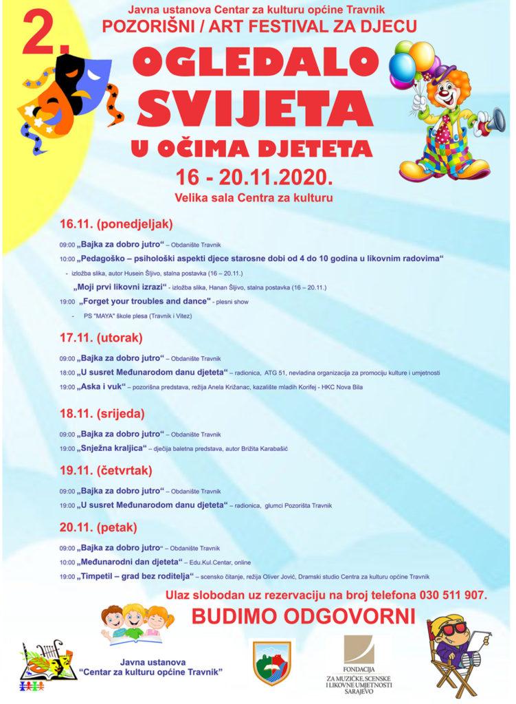 Travnik/ U ponedjeljak počinje 2. Pozorišni/art festival za djecu