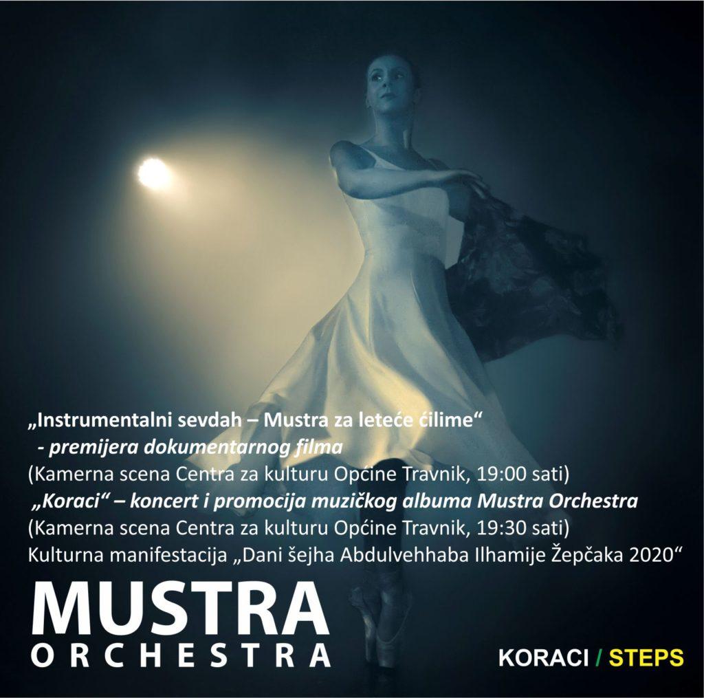 """Travnička Mustra Orchestra/ Sutra promocija novog albuma """"KORACI"""""""