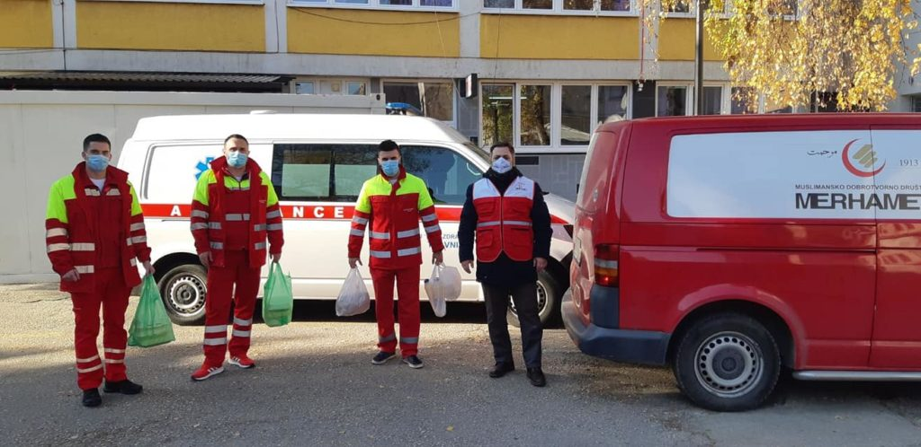 Merhamet Travnik/ Ručak za zdravstvene radnike