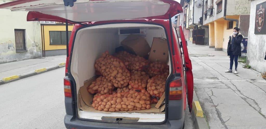 Merhamet Traavnik/ Krompir i meso za mještane MZ Stari grad