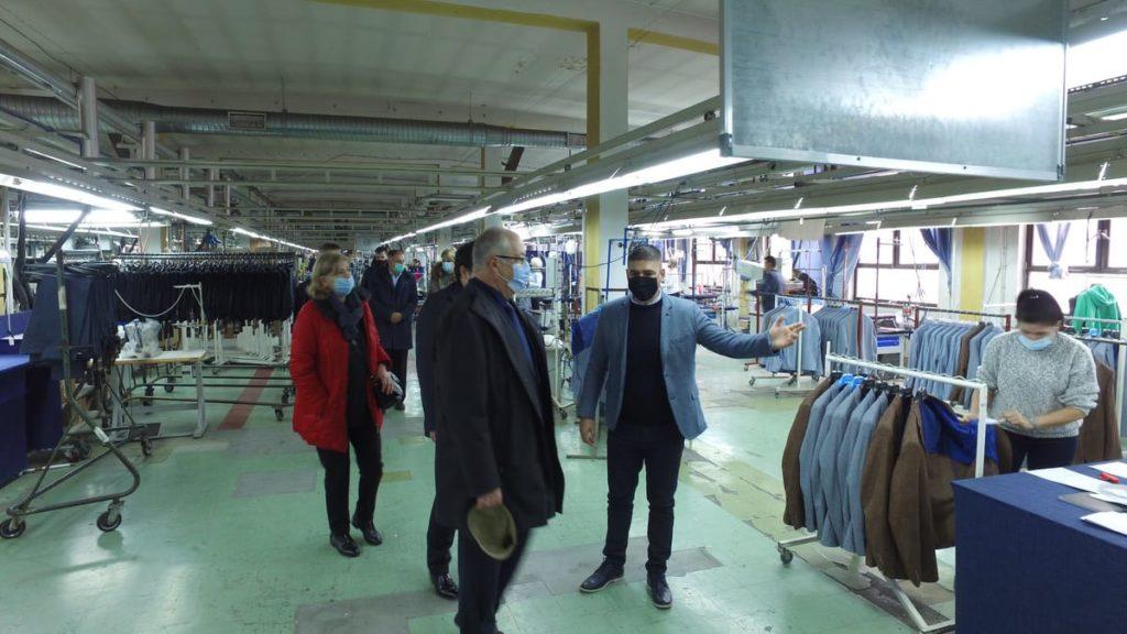 """Načelnik Općine Travnik posjetio kompaniju """"Master Fashion"""""""