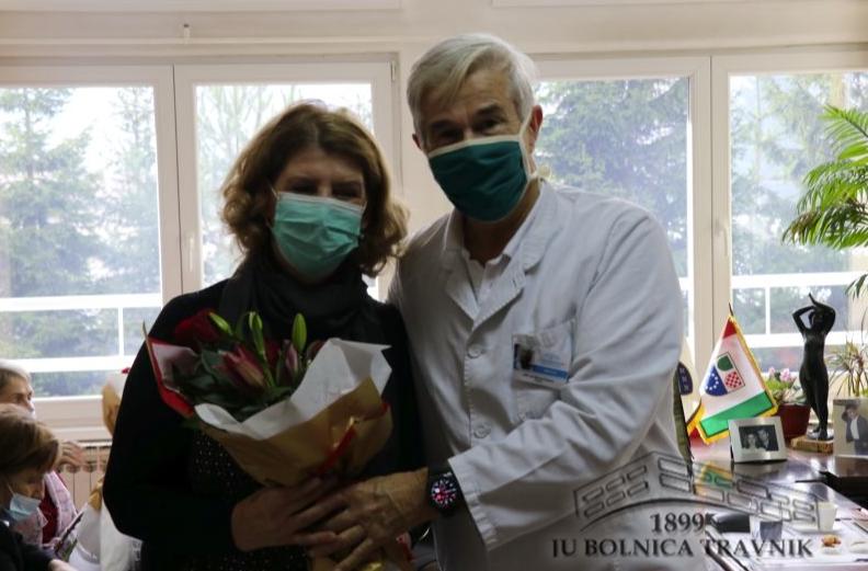 (FOTO) Bolnica Travnik ispratila ovogodišnje penzionere