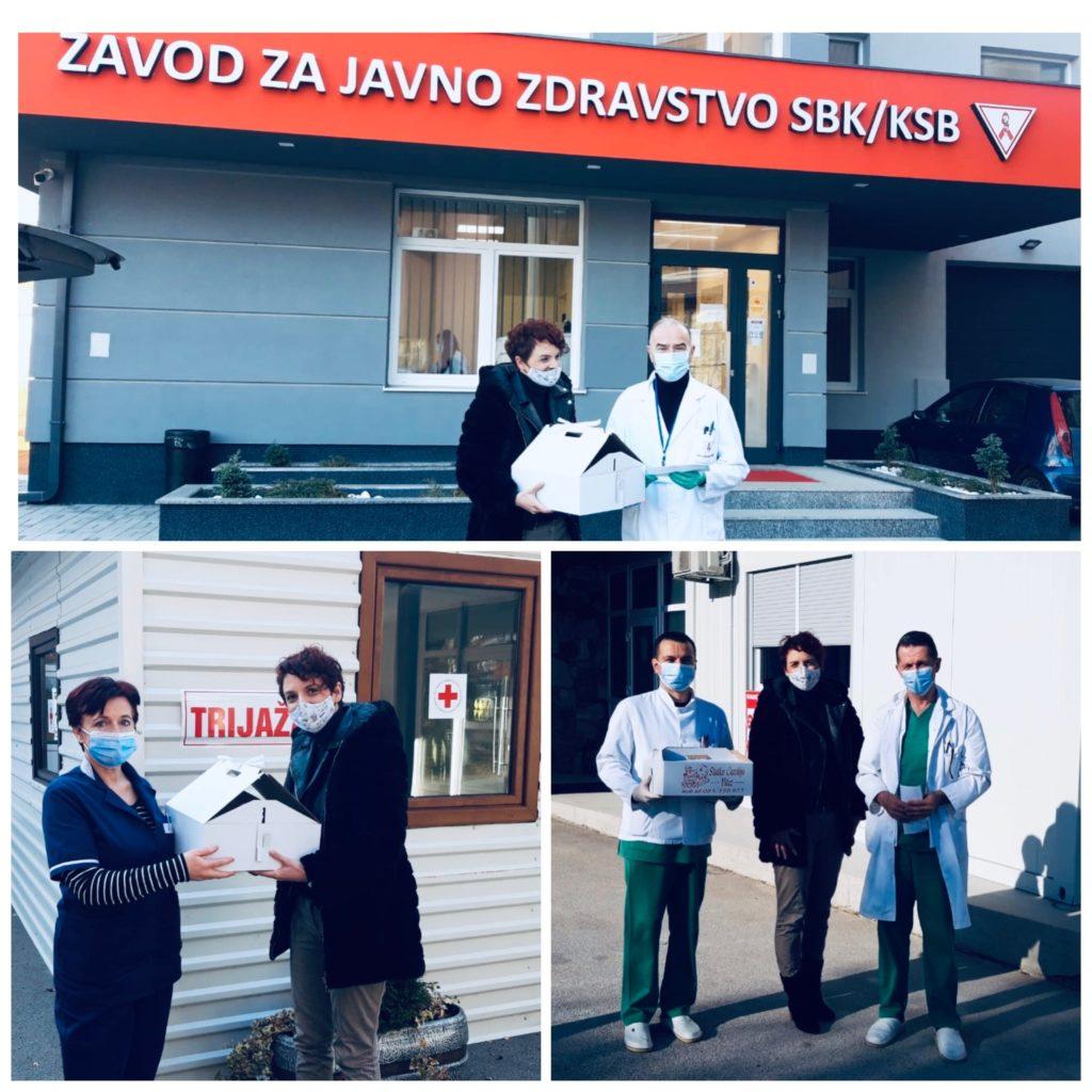 """""""VI STE NAŠI HEROJI"""" - simbolična poruka djece iz Travnika, Viteza i Bugojna"""
