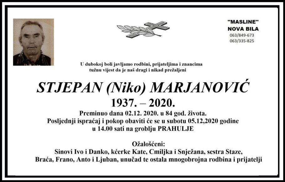 Sutra sahrana Stjepanu Marjanoviću