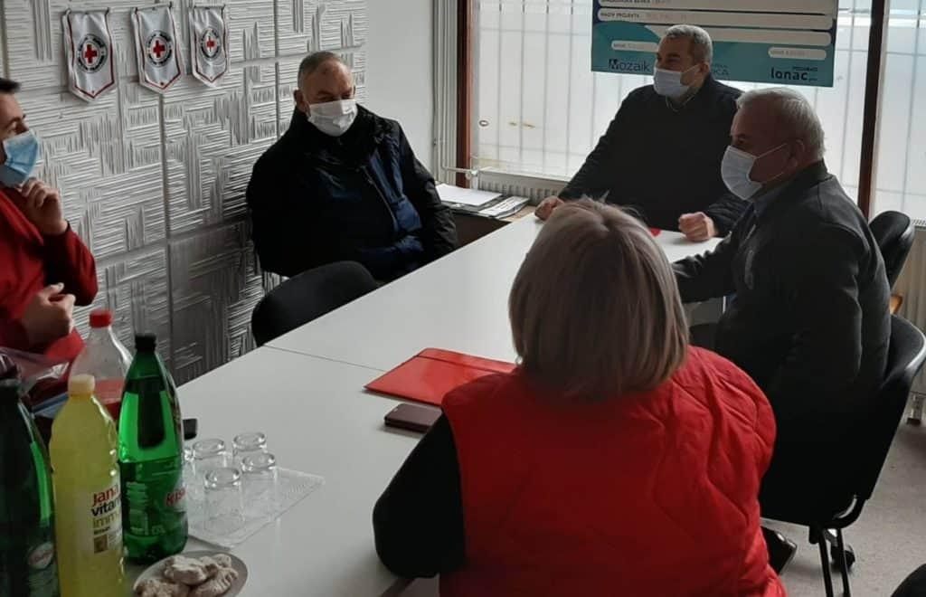 (FOTO) Generalni sekretar Crvenog križa FBiH u Travniku