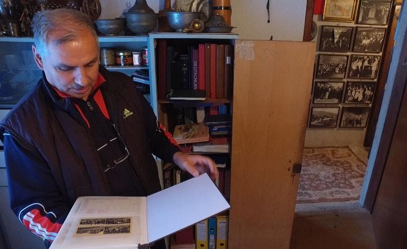Ugostio nas kolekcionar starina Hadžiabdić Emin