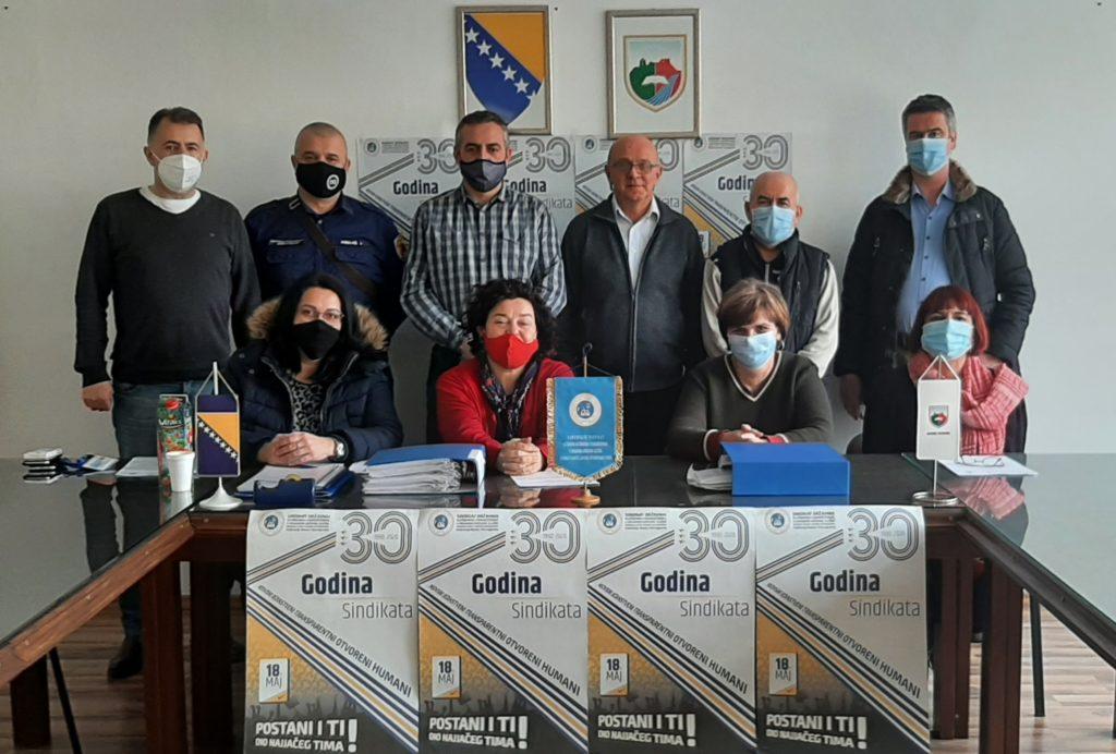 Sindikalni odbor općine Travnik održao izvještajnu sjednicu