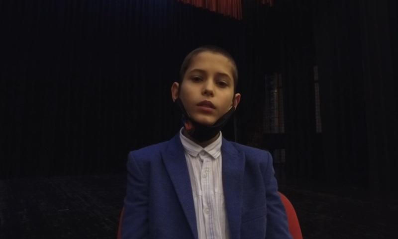 Jedanaestogodišnji Vedad Babanović iz Travnika u popularnoj TV seriji