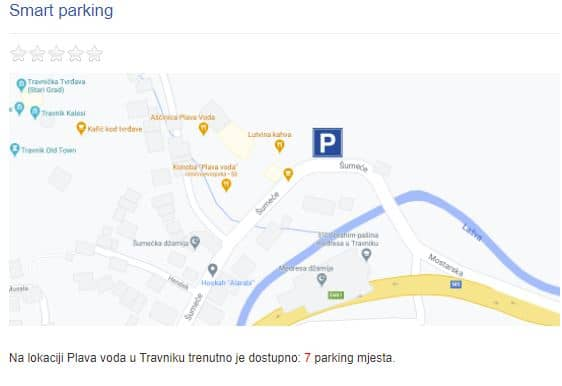 Novi servisi za građane / Provjerite kvalitetu zraka i dostupna parking mjesta
