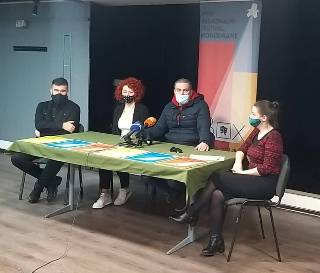 "Prvi regionalni festival monodrame ""InBox"" od 16. do 19.09. u Travniku"