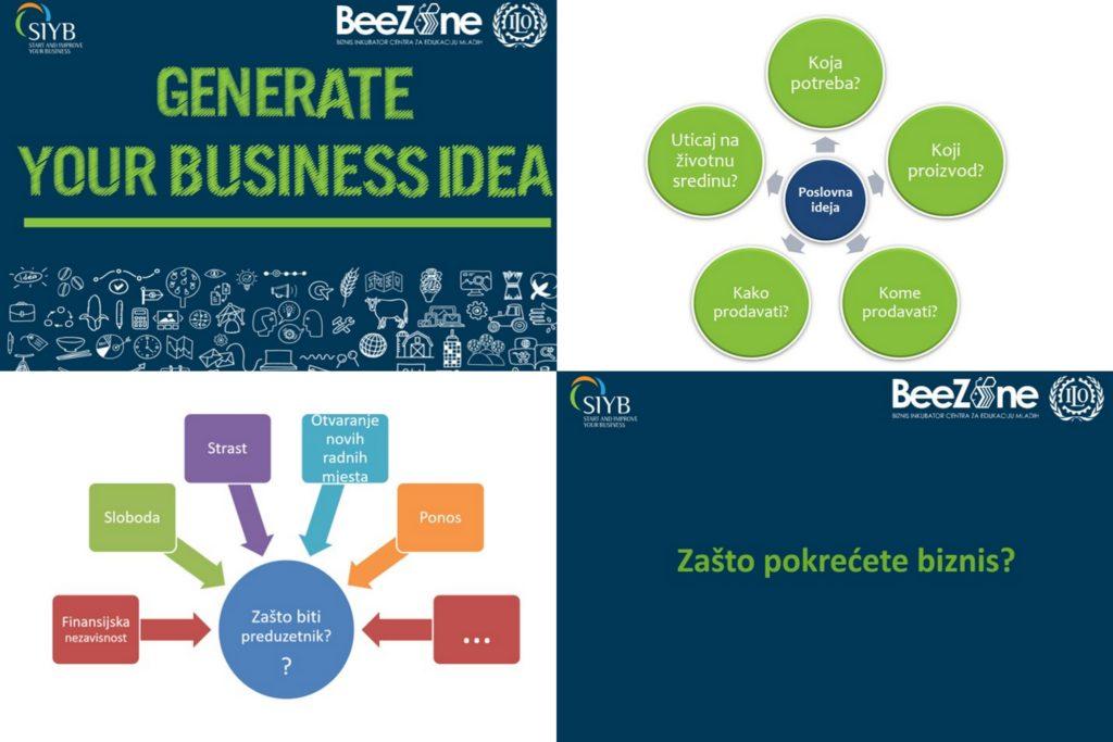 TREIN/ Drugi ciklus poduzetničke obuke u BeeZOne boznis inkubatoru