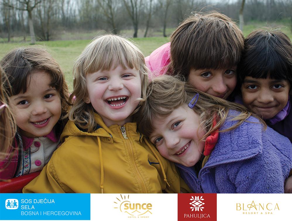 Boraveći u Hotelu Blanca Resort&Spa, Hotelu Pahuljica i Hotelu Sunce Vlašić podržavate rad SOS Dječijih sela BiH