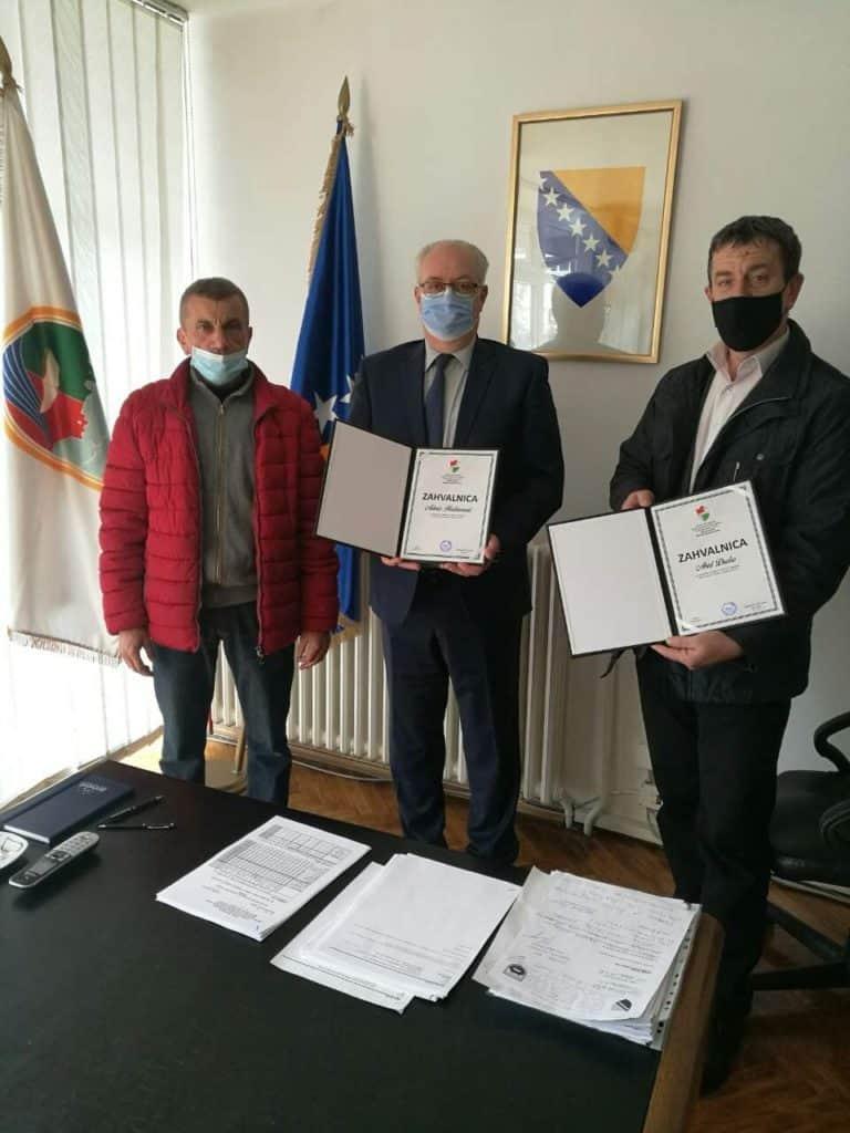 Predsjednik MZ Goleš posjetio načelnika Admira Hadžiemrića