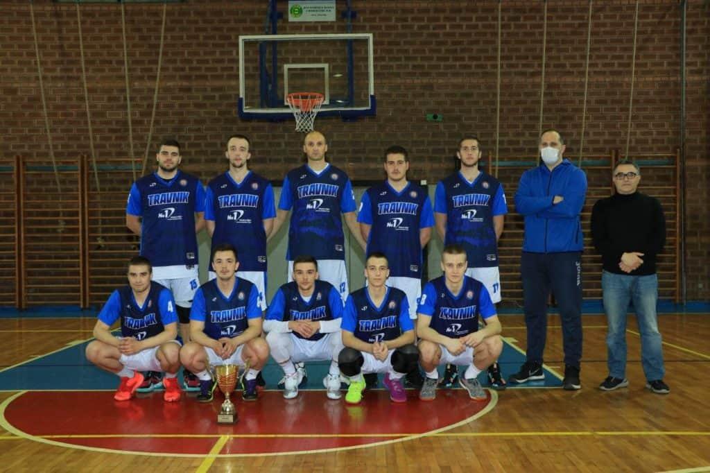 Košarkaši Travnika savladali ekipu KK ŽELJO iz Bihaća rezultatom 88-82
