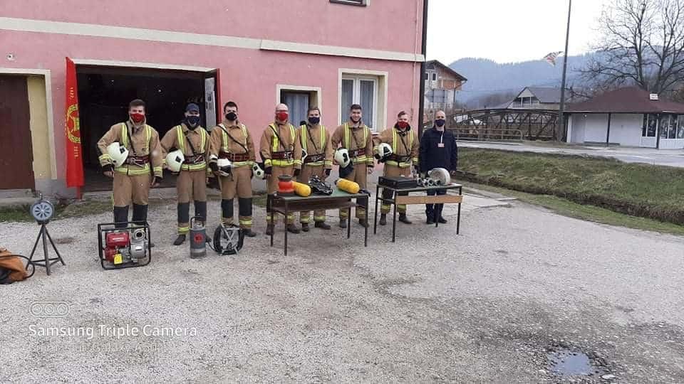 (FOTO) Dan otvorenih vrata Vatrogasnog društva Turbe