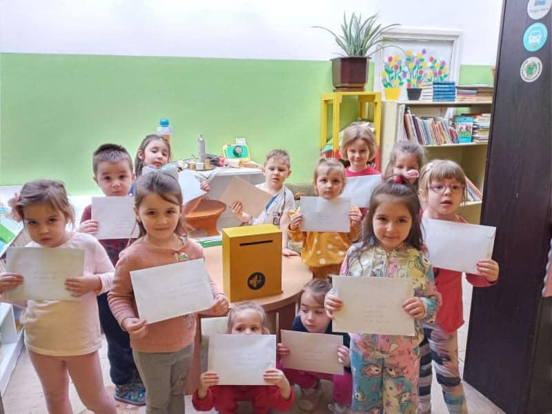 (FOTO) JU Obdanište Travnik / Veliko hvala našim penzionerima!