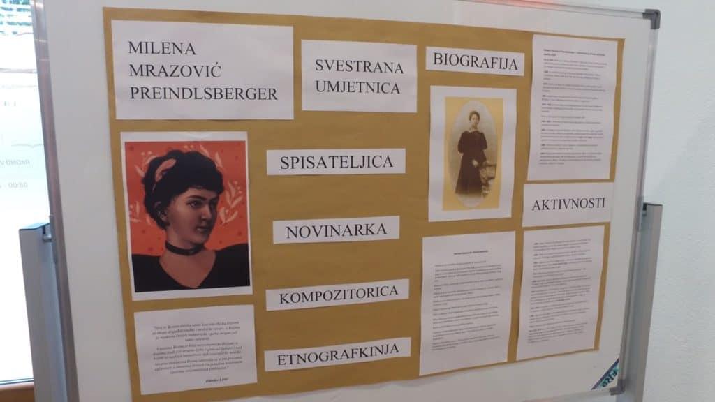 Dan općine Travnik/ Radionica i predavanje o Mileni Mrazović Preindlsberger