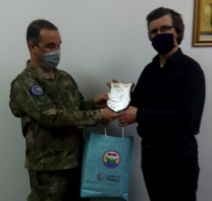 Bratimljenje sa školom iz Istanbula / Predstavnici Turske vojne misije posjetili MSTŠ Travnik