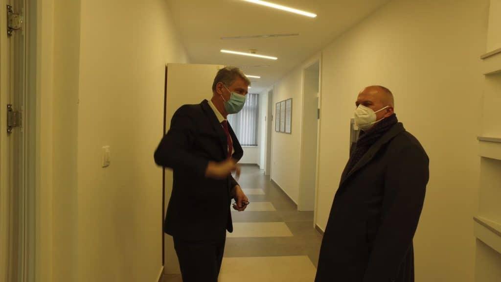 Kenan Dautović posjetio Zavod za javno zdravstvo SBK
