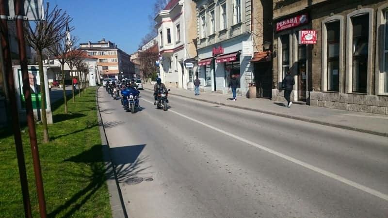 (FOTO) Organizovan prvi MOTO RUN Travnik-Modriča