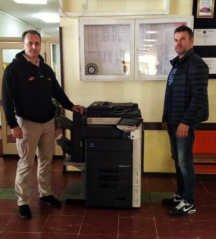 SSK TARGET uručio multifunkcionalni kopir aparat MSTŠ Travnik