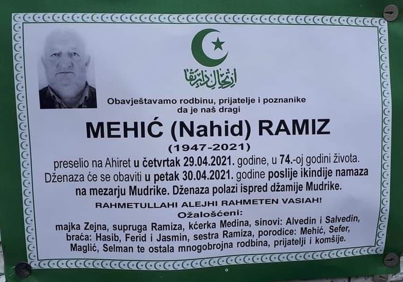 Mehić Ramiz