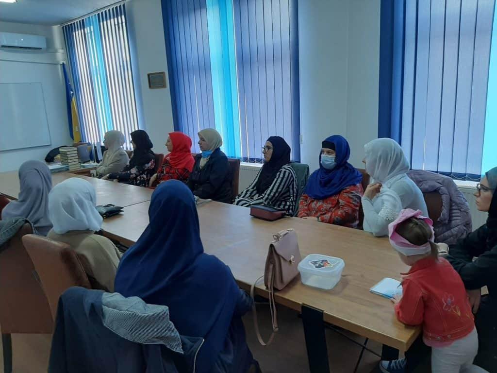Ramazanske posjete koordinatorice Odjela za brak i porodicu medžlisima Muftijstva travničkog