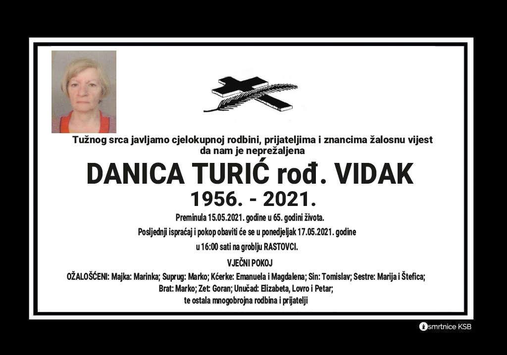 Preminula Danica Turić