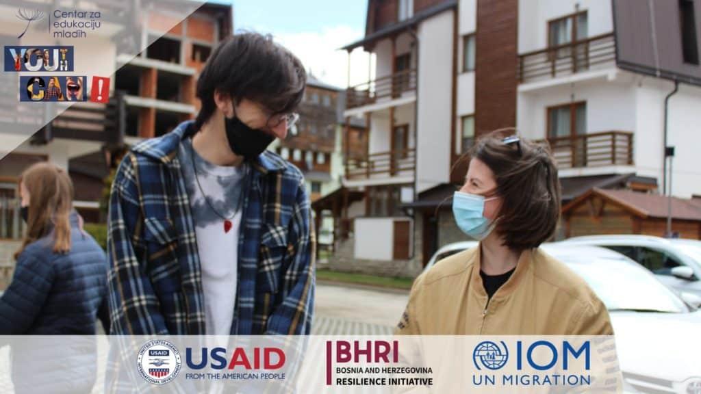 """Mladi iz sedam općina SBK u program """"YOUth CAN"""" Centra za edukaciju mladih"""