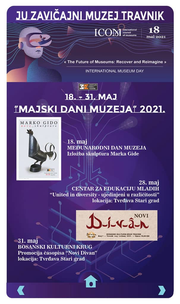 Majski dani muzeja u Travniku