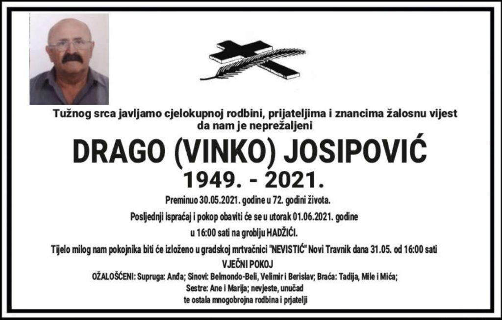 Preminuo Drago Josipović