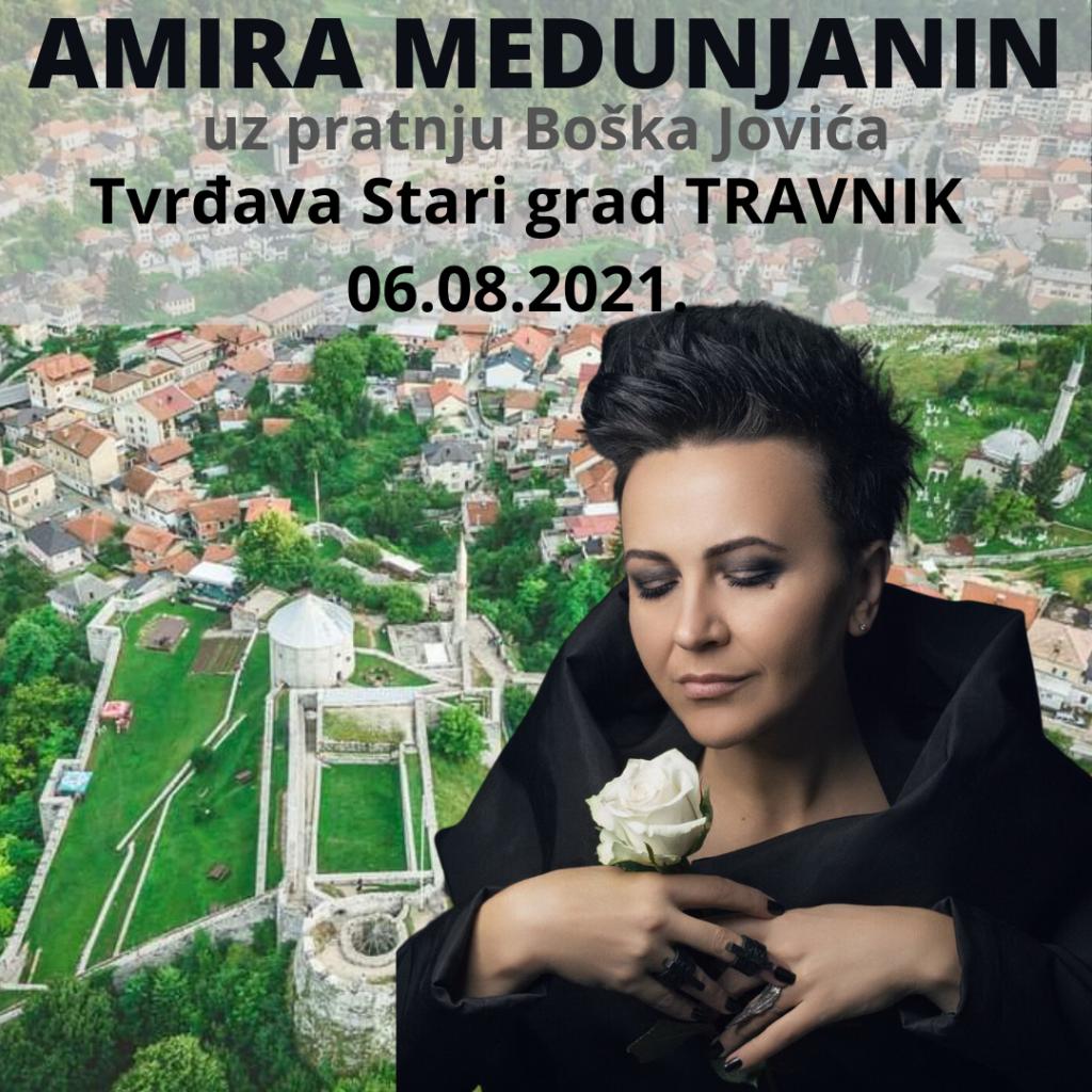 Amira Medunjanin ovog ljeta nastupa na prekrasnoj tvrđavi u Travniku i Jajcu