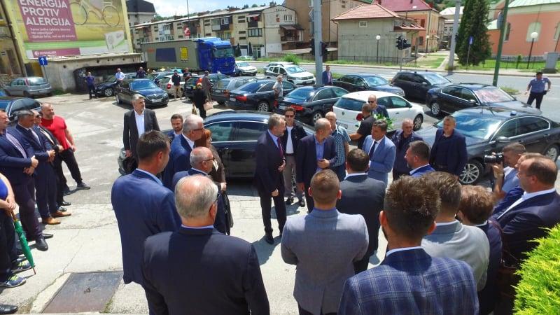 (FOTO) Novalić, Izetbegović, Mahmutbegović i Ramić u posjeti Travniku