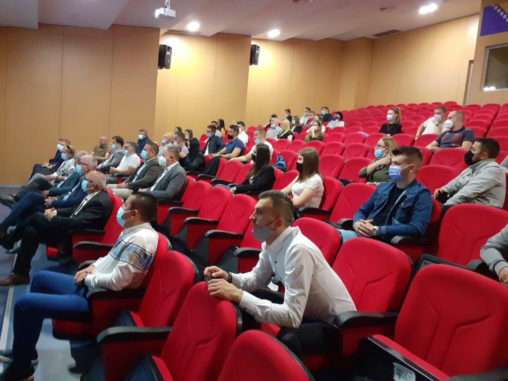 IUT Travnik / Prezentacija Studije uređenje Bosanske ulice kao pješačke zone