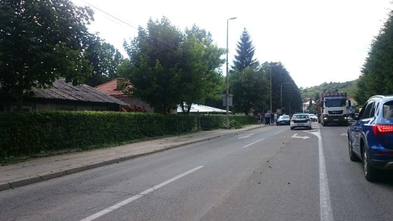 Saobraćajna nezgoda kod JU Bolnica Travnik