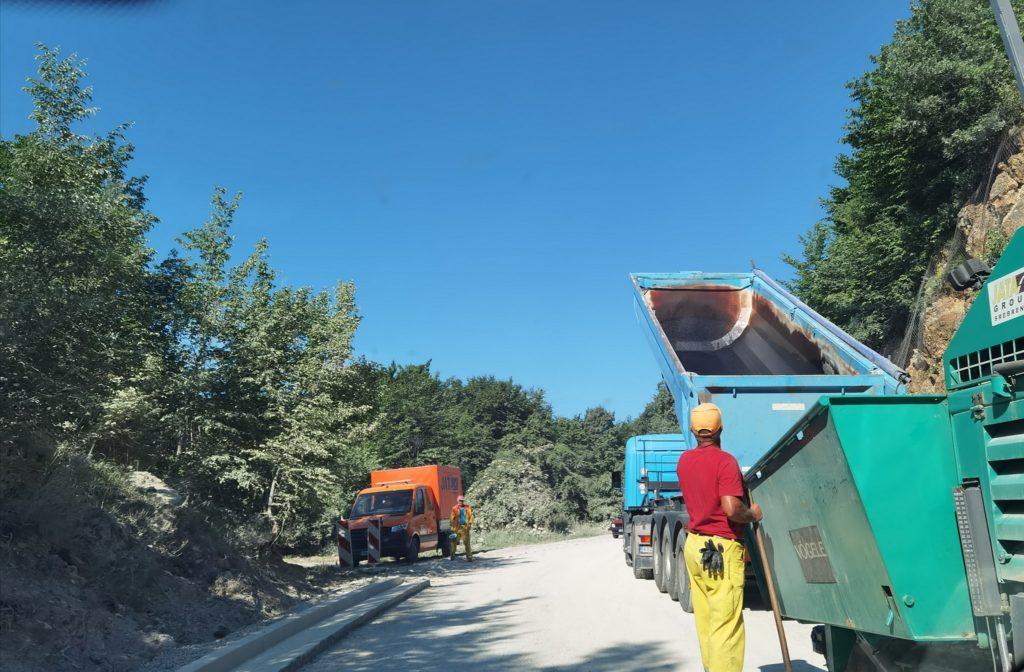 Uređenje dijela ceste na putnom pravacu Turbe - Babanovac