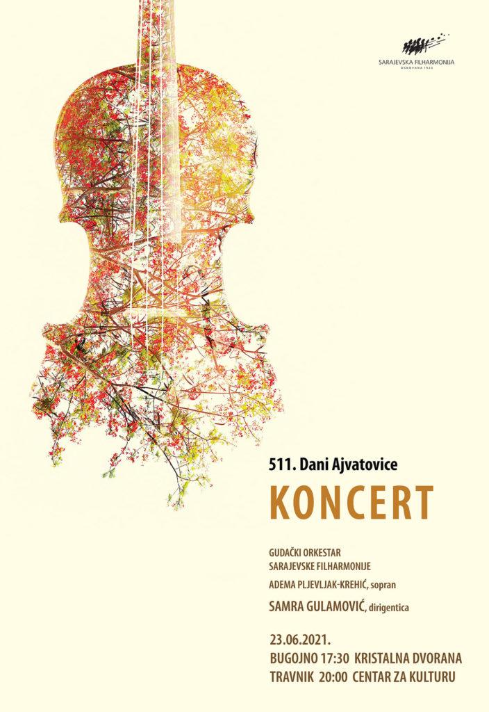 Sutra u Travniku koncert Sarajevske Filharmonije