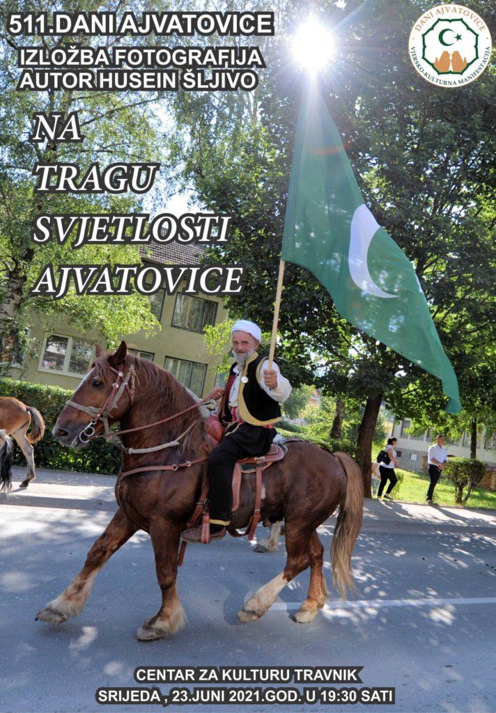 """Sutra u Travniku otvorenje izložbe """"Na tragu svjetlosti Ajvatovice"""""""