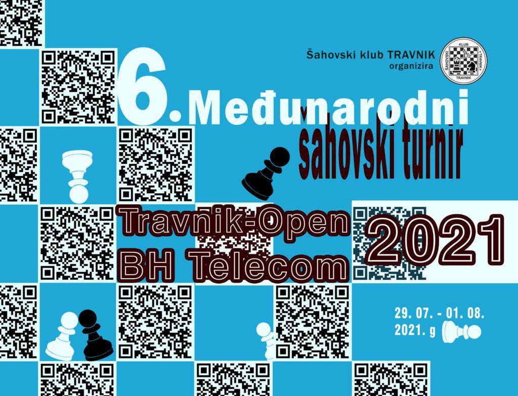 Šahovski klub Travnik/ Međunarodni šahovski turnir ''Travnik-open 2021. BH TELECOM''
