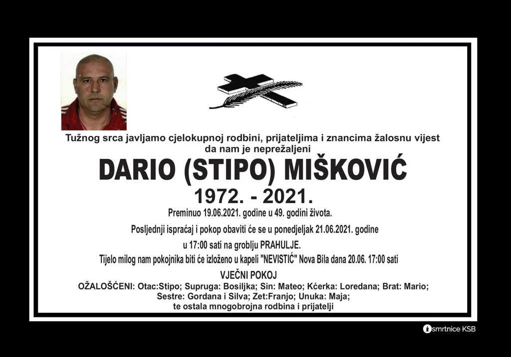 Preminuo Dario Mišković